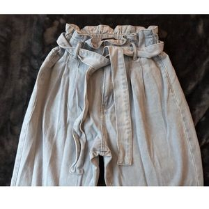 Forever 21 Jeans - F21 Paperbag Waist Jeans (27)